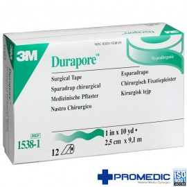 DURAPORE HIPOALERGENICO 2,5X10 C/10