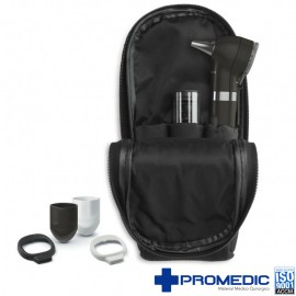 SET OTOSCOPIO POCKET+ LED ONIX NEGRO WA
