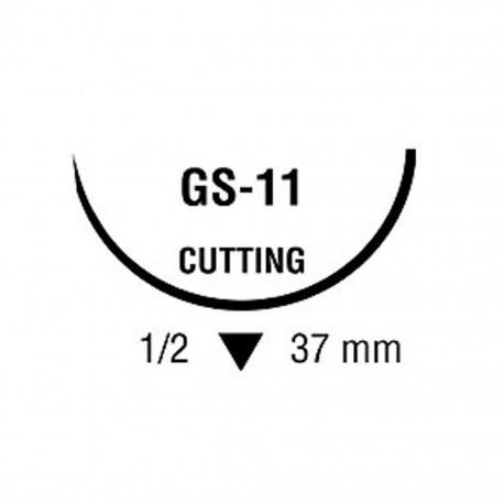 POLYSORB 0 VIO 1/2 37mm T 75cm GS11 C/36