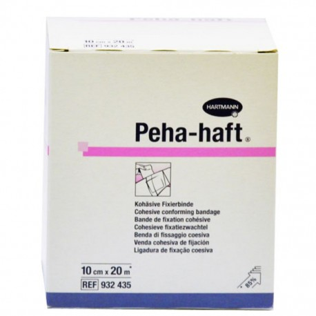 VENDA COHESIVA PEHA-HAFT 10 cm X 20 m