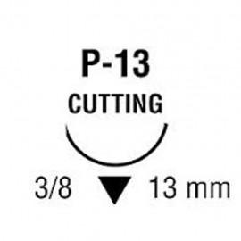 CAPROSYN 5/0 INC 3/8 13mm T 45cm P13 C/12