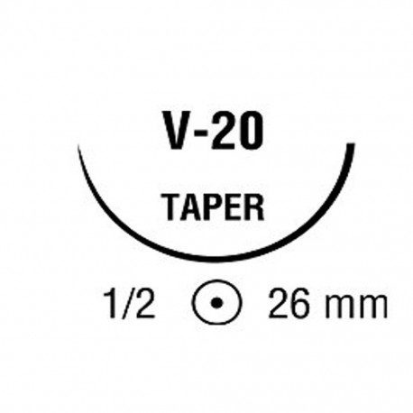 BIOSYN 3/0 VIO 1/2 26mm C 75cm V20 C/36