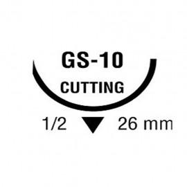 BIOSYN 2/0 VIO 1/2 26mm T 75cm GS10 C/36