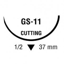 BIOSYN 2/0 VIO 1/2 37mm T 75cm GS11 C/36