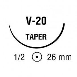 BIOSYN 2/0 VIO 1/2 26mm C 75cm V20 C/36