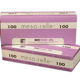 AGUJA MESO-RELLE 30G 0,30X4mm C/100