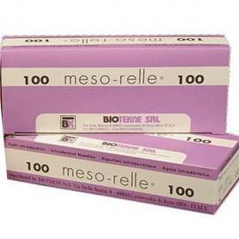 AGUJA MESO-RELLE 30G 0,30X4mm C/100