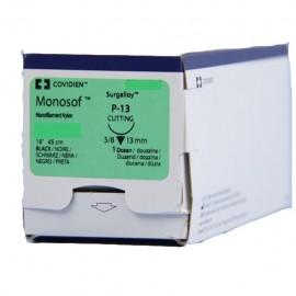 MONOSOF 4/0 NEG 3/8 19mm T 45cm P12 C/12
