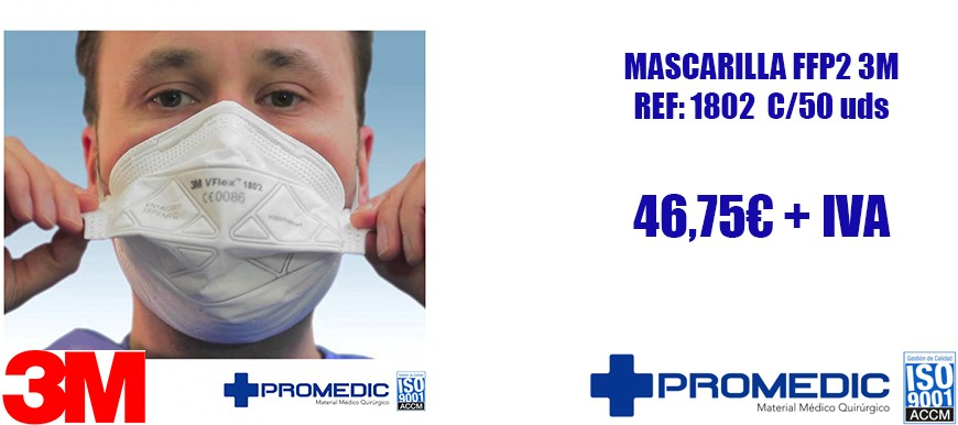 Mascarilla FFP2 C/50